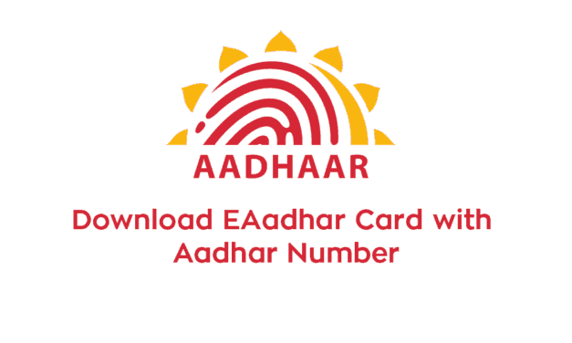 Download E-Aadhaar Card with Aadhaar Number