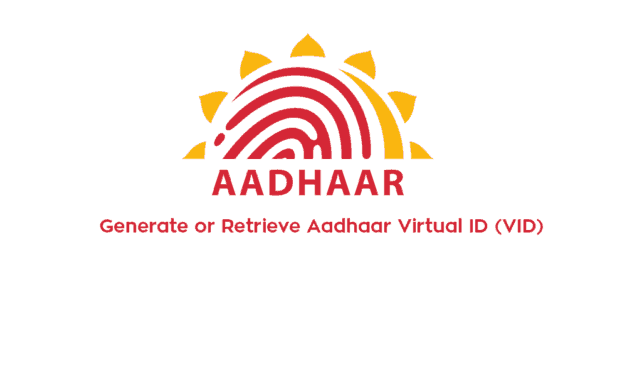 Generate or Retrieve Aadhaar Virtual ID (VID)  from uidai.gov.in