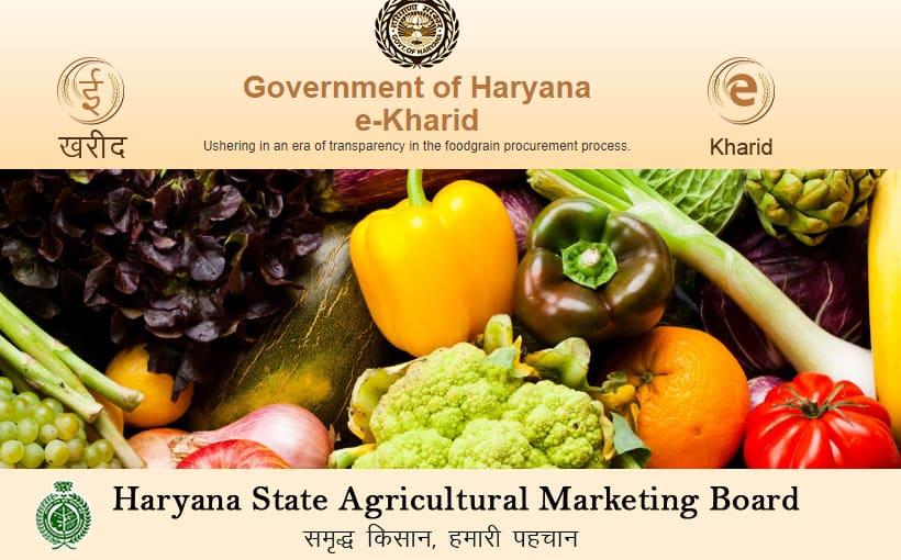 Haryana e KharidOnline Register
