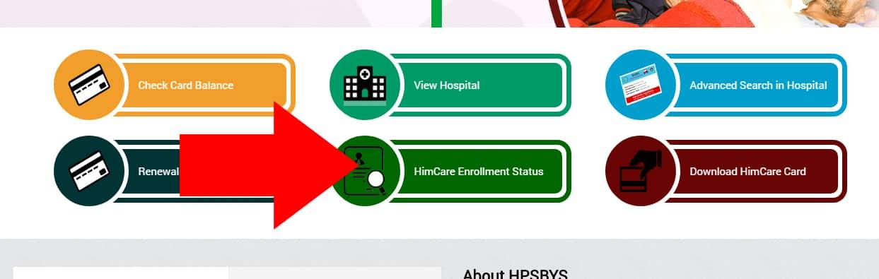 Check Himachal Pradesh Himcare Enrollment Status
