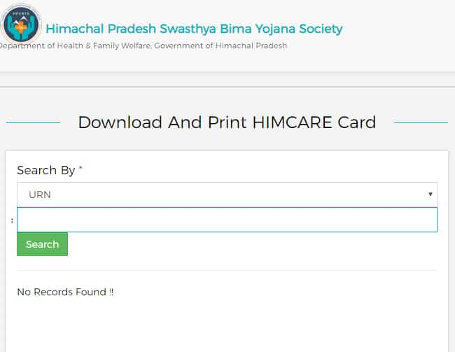 Download and Print Himcare Card Online