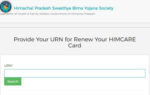 Renew Himcare Card Online
